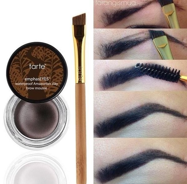 Trate Amazonian Clay waterproof brow mousse | MakeUp | Pinterest ...