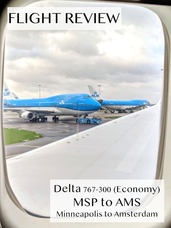Check out our flight review of Economy on Delta from
