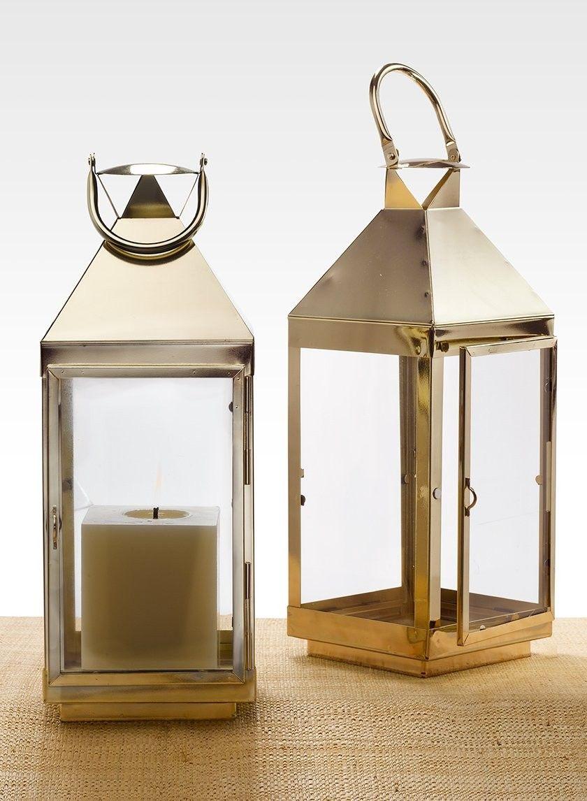 This decorative lantern makes a great centerpiece, decor for a bar ...
