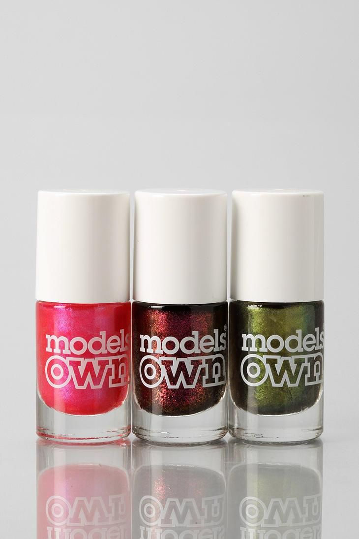 Models Own Mini Trio Nail Polish Set Beetle Juice Collection Nail Polish Cheap Nail Polish Nail Polish Sets