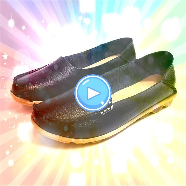 flats slip on women loafers soft moccasins with genuine leather shoes woman plus size f Women flats slip on women loafers soft moccasins with genuine leather shoes woman...