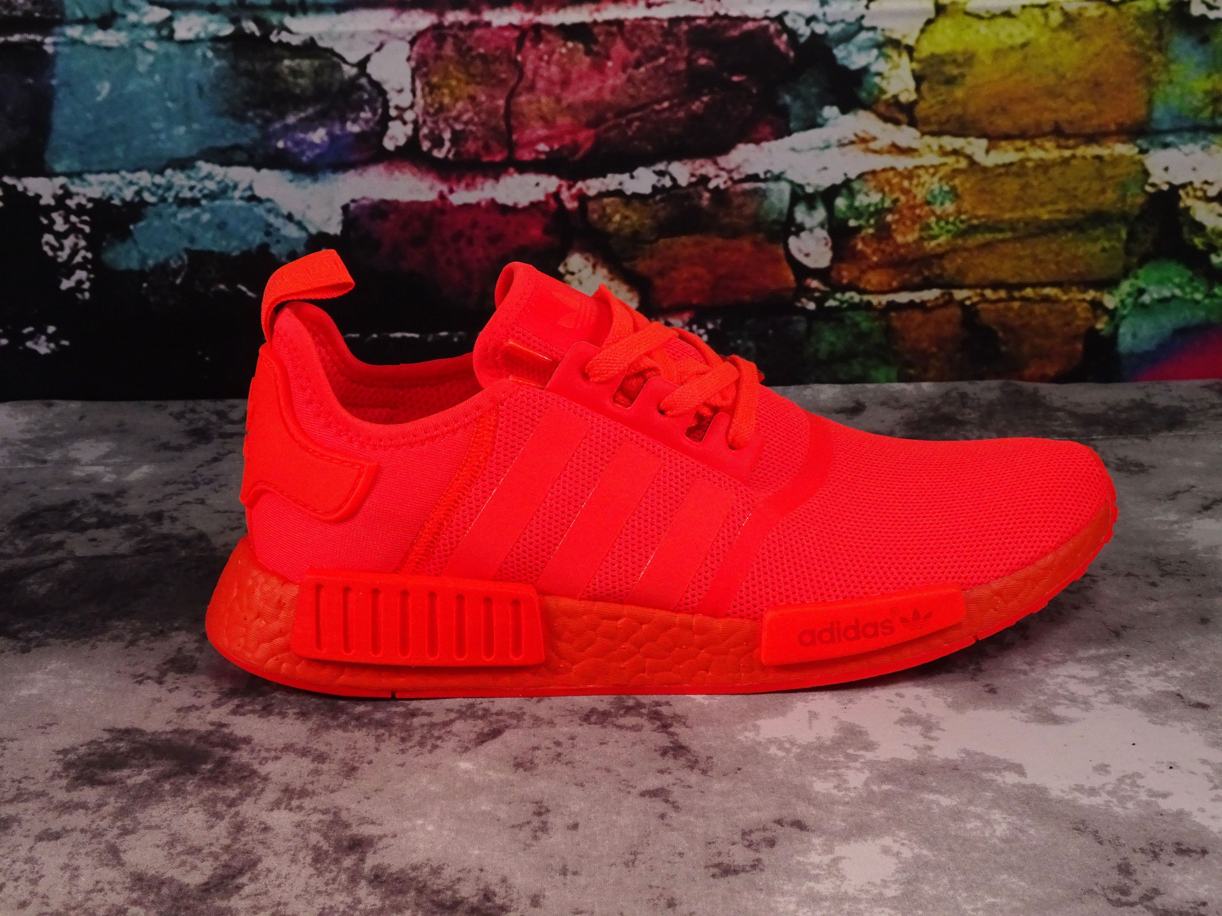 hot sale online dcf0e 13b8f Adidas NMD R1 Triple Solar Red | Cute stuff | Red adidas ...