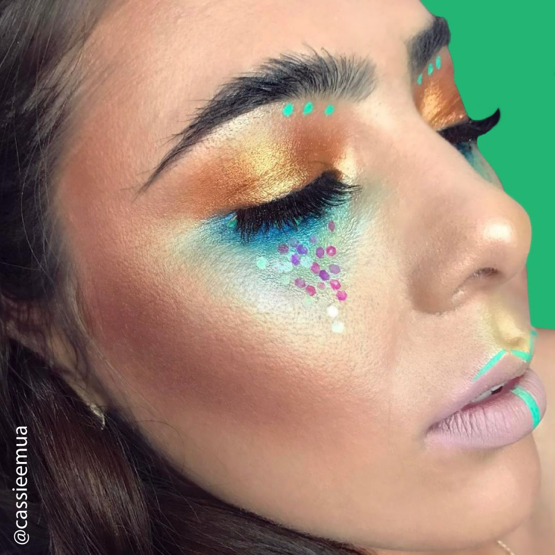 cassieemua is Coachella ready with this beautiful