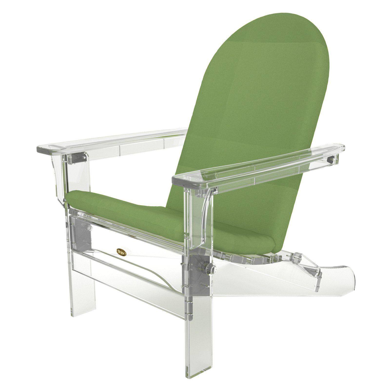 Trex Outdoor Furniture Sunbrella 46 In. Hinged Arch Top