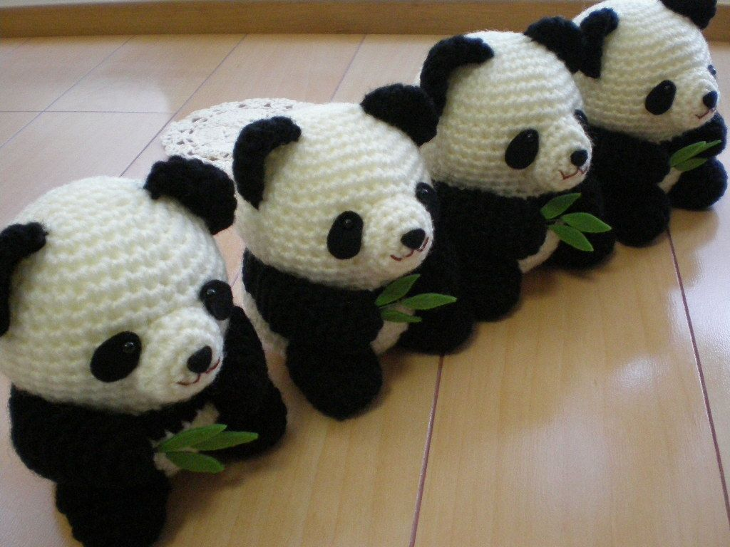 Oso Panda Amigurumi Patron Gratis : パンダのあみぐるみ amigurumi patterns crochet and panda