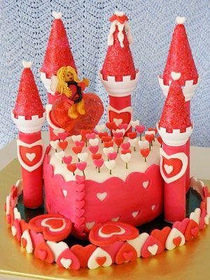 Cupid's Castle cake