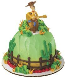 Peachy Ryans Cake From Walmart With Images Toy Story Cakes Woody Birthday Cards Printable Trancafe Filternl
