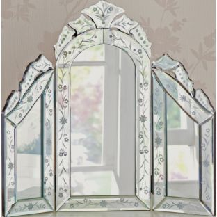 Buy Inspire Venetian Dressing Table Mirror At Argos Co Uk Your Online Shop For Mirrors Venetian Dressing Table Dressing Table Mirror Mirror Table