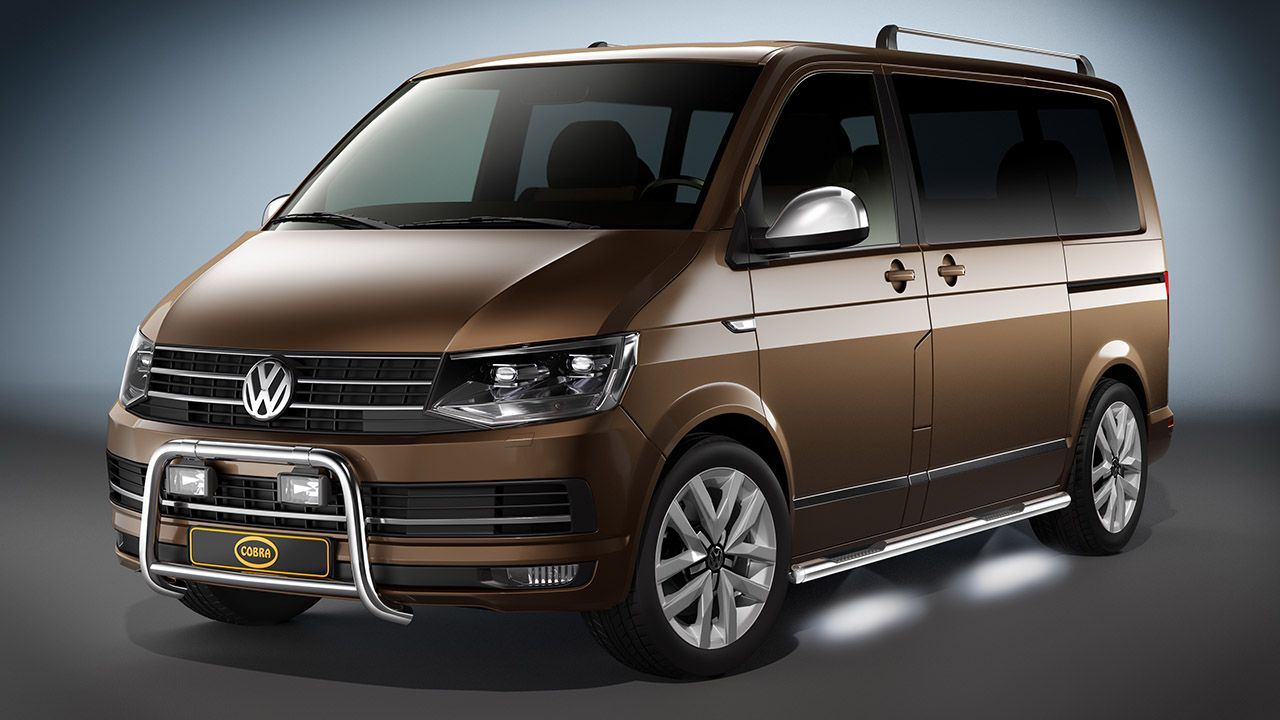 The exclusive Cobra accessories range for the new VW T6