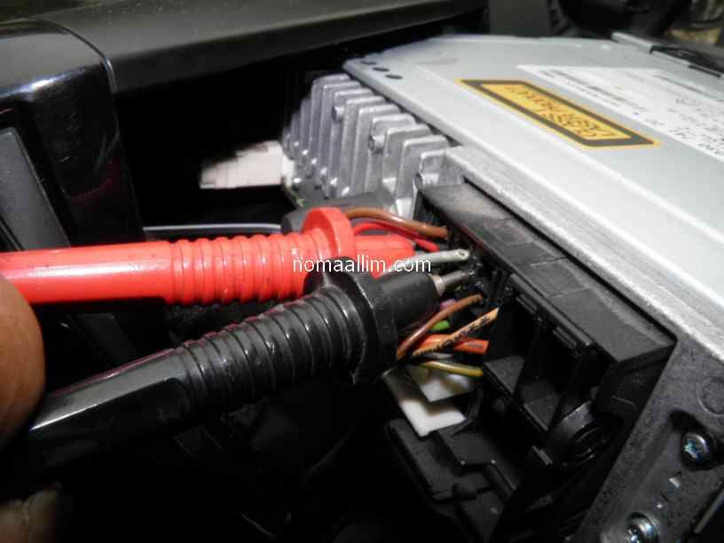 How to test and identify car stereo wires for connecting