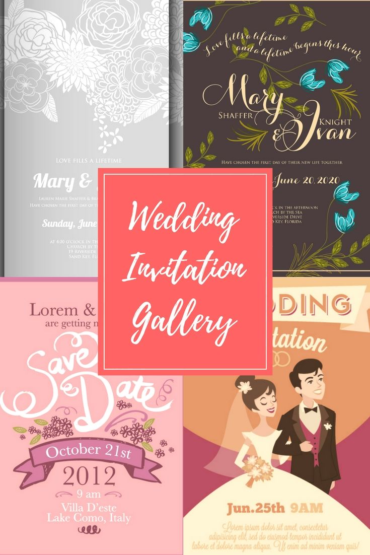 Professional Wedding Invitations Format Online For Your Wonderful ...