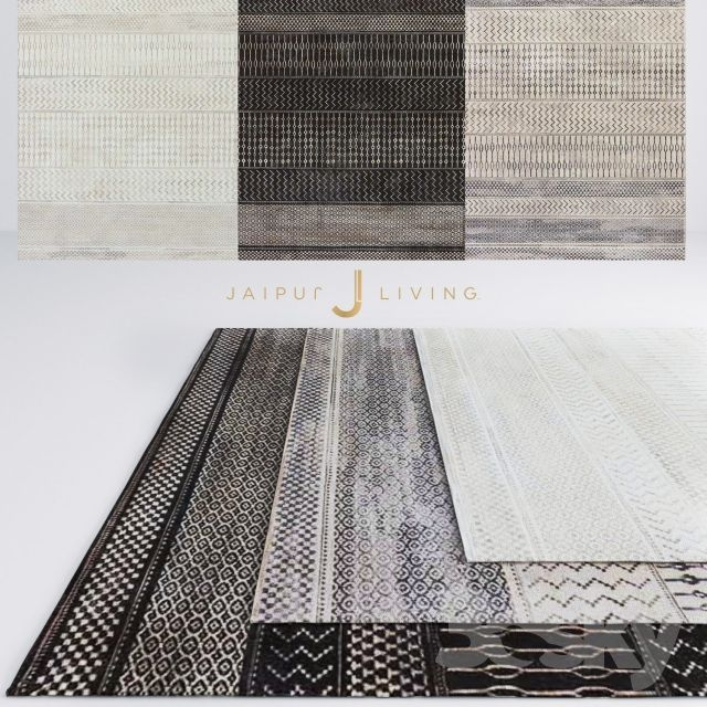 Jaipur Zeal Rug From Dash Collection   3dsky pickings