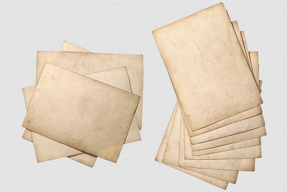 Png Used Paper Sheets Stack Old Paper Paper Png