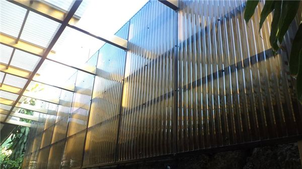 Corrugated Polycarbonate Sheets Clear Roof Panels Polycarbonate Corrugated