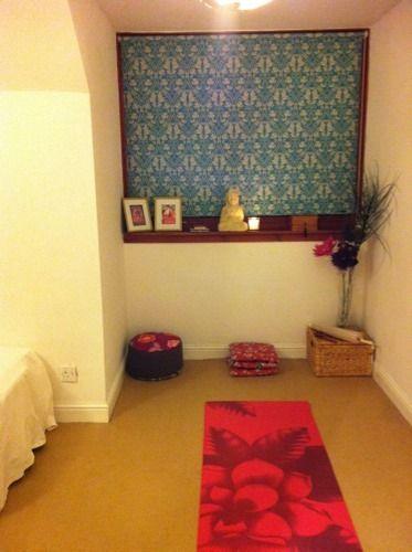 Yoga Space In Bedroom Bedroooms Yoga Studio Home Meditation