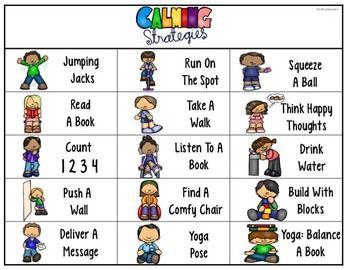Calming Corner Feelings Calming Strategies Kids Coping Skills Calming Strategies Social Emotional Learning