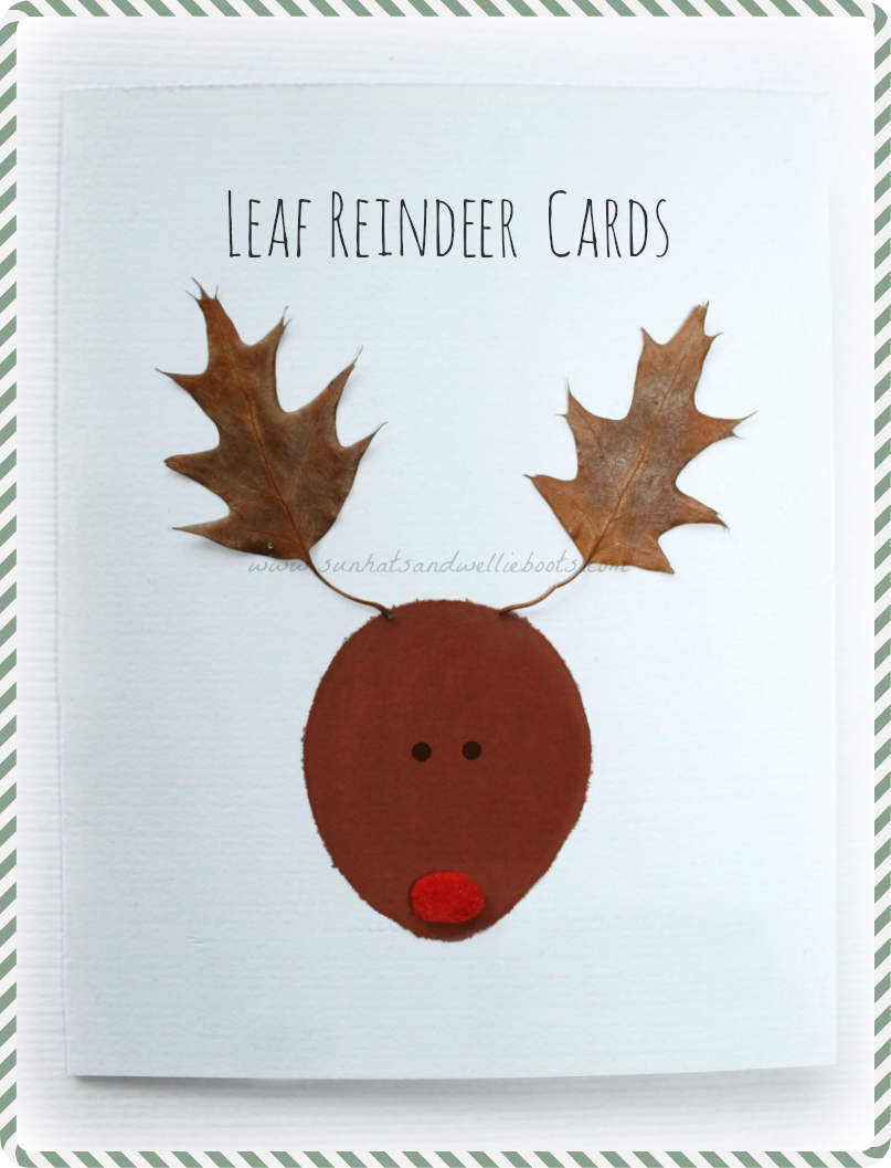 sun hats wellie boots leaf reindeer cards inspired by