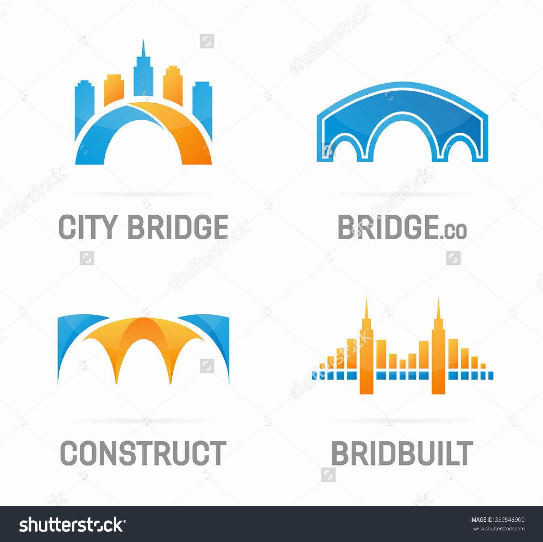Set of abstract bridge logo stock vector illustration 339548900 set of abstract bridge logo stock vector illustration 339548900 shutterstock biocorpaavc