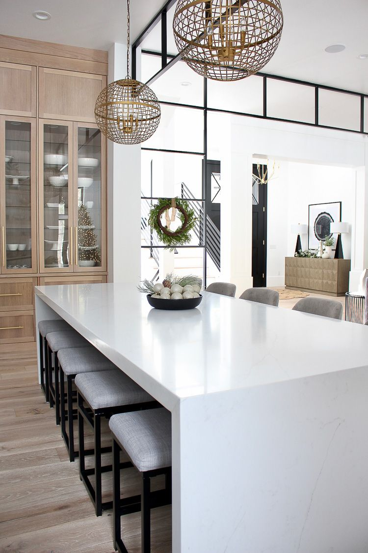 Best The Forest Modern Christmas Home Tour The Kitchen Home 400 x 300