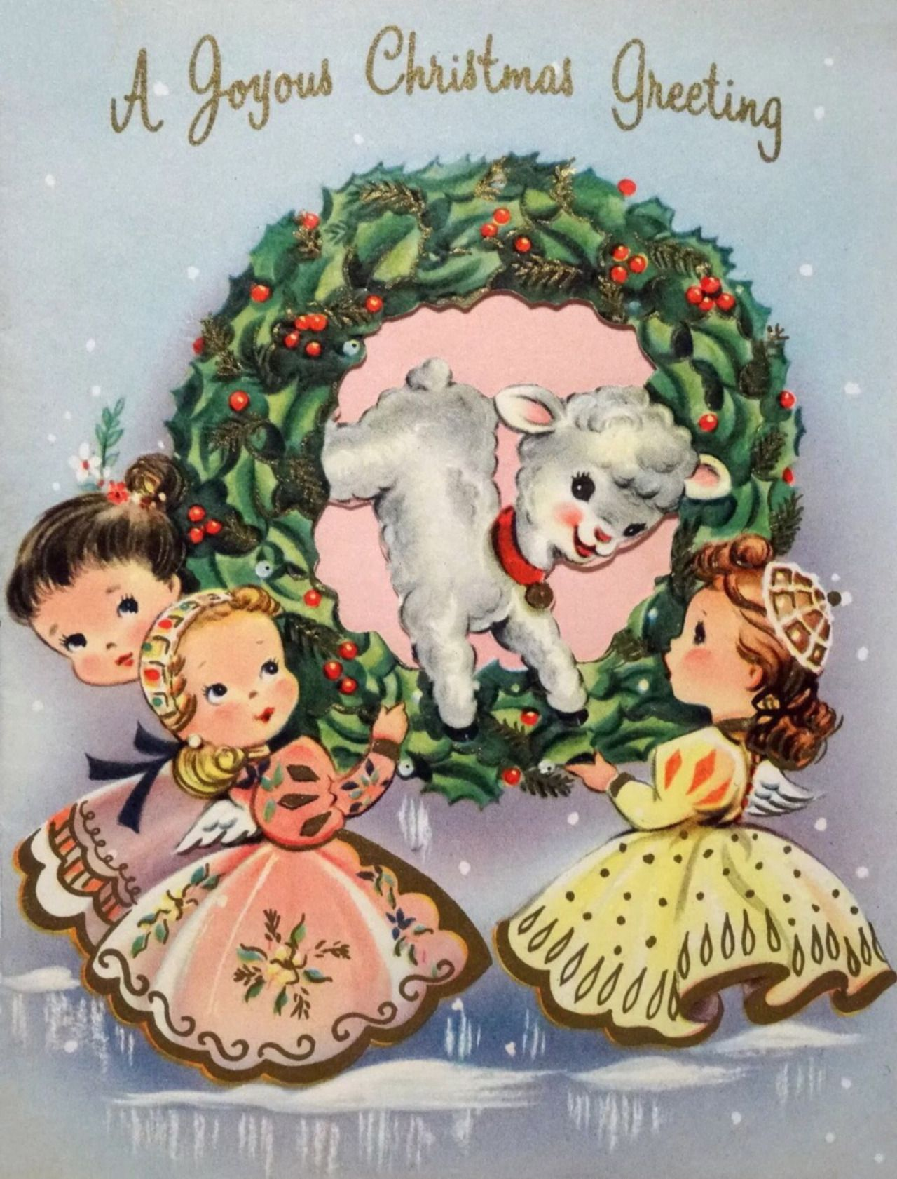Vintage Christmas Card   highapplepieintheskyhopes.tumblr.com ...
