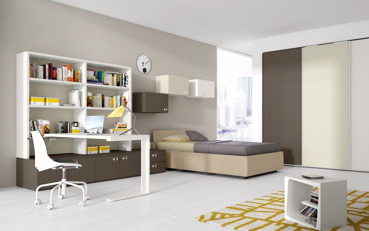 camera da letto singola | cameretta | pinterest | contemporary and ... - Camera Da Letto Single