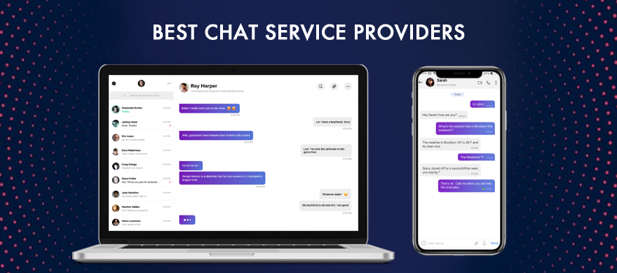 Here we curated the list of best chat app solution providers