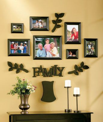 12 Pc Family Tree Frame Sets Family Tree Picture Frames Family Tree Frame Decor Display