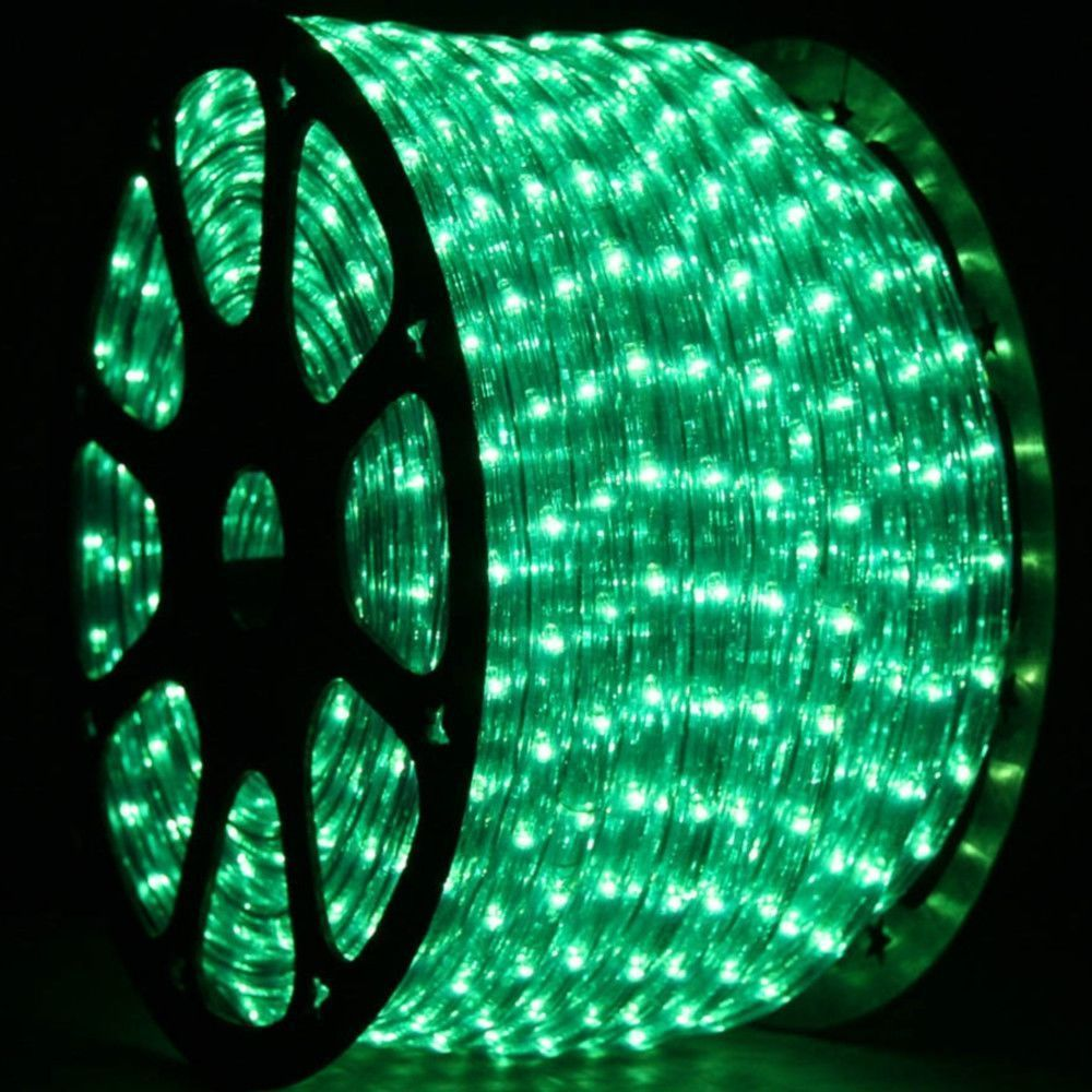 1 2 Inch 150 Ft Led Green Rope Light Led Rope Lights
