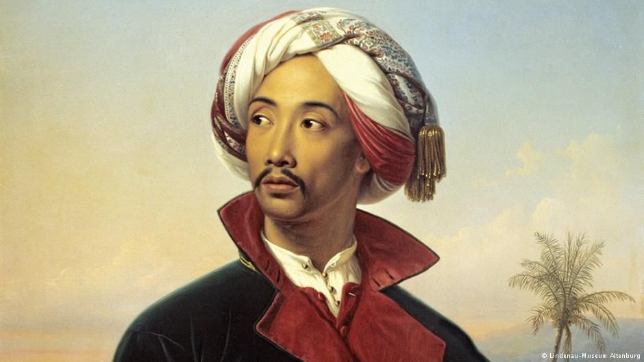 """Raden Saleh verbrachte viele Jahre seines Lebens - """"seine schönsten"""" - in…"""