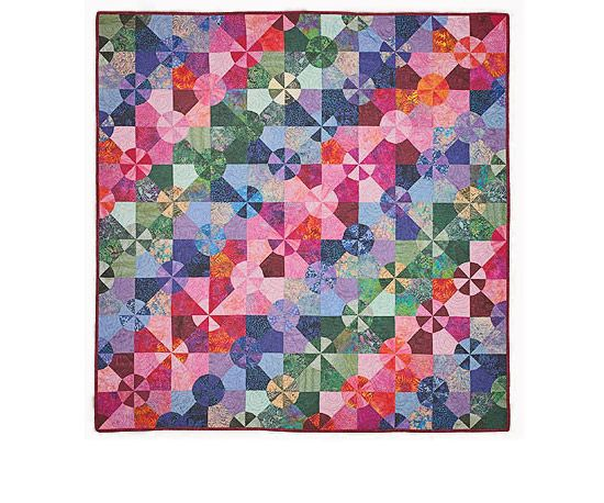 Colorful Quilting Project