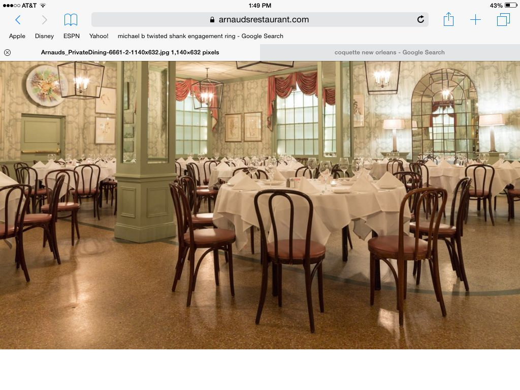 Counts Room Arnaud S Private Dining Room House Design Room