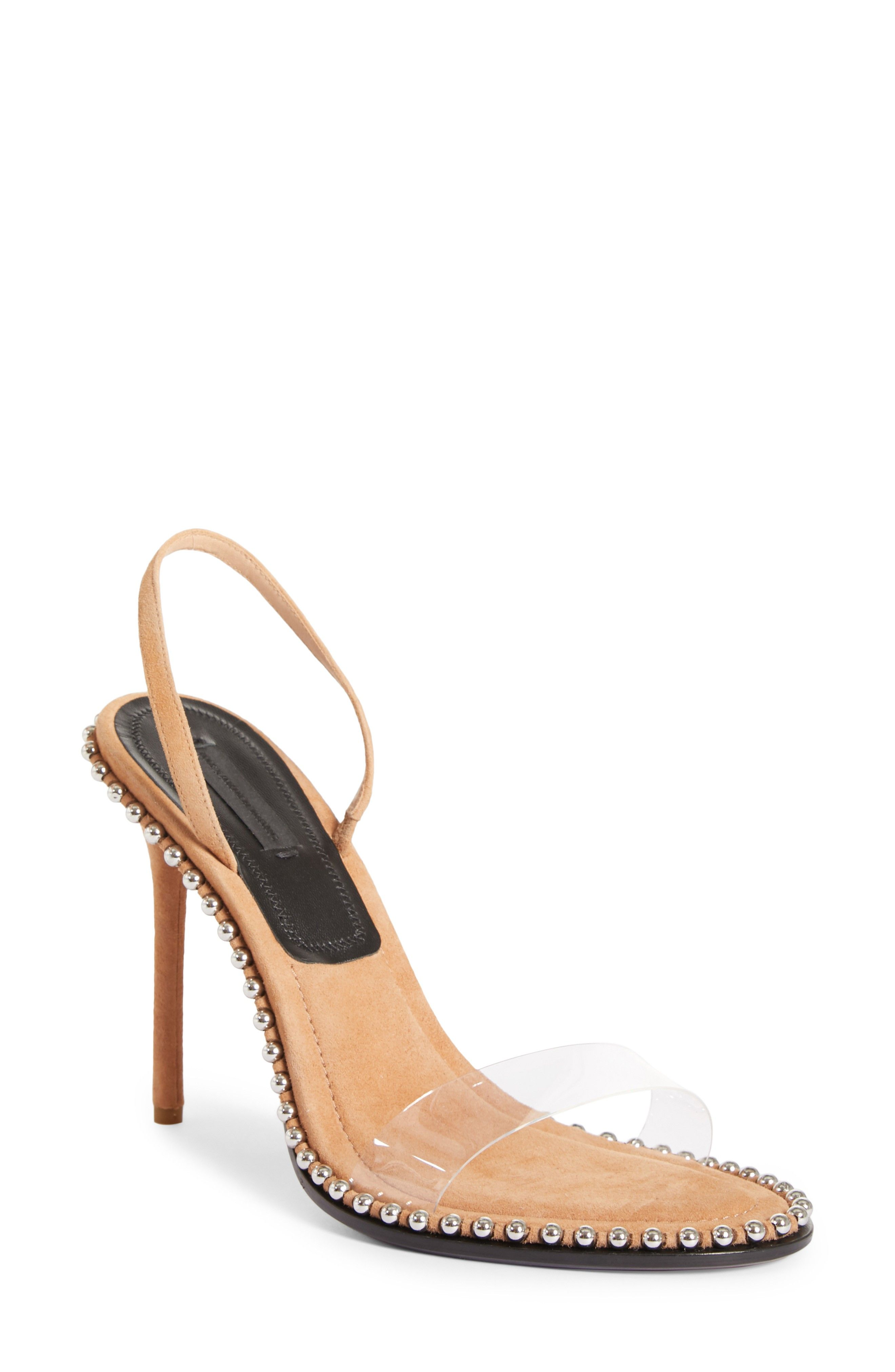 ALEXANDER WANG | Nova Studded Sandal #Shoes #Sandals #Slides #ALEXANDER WANG