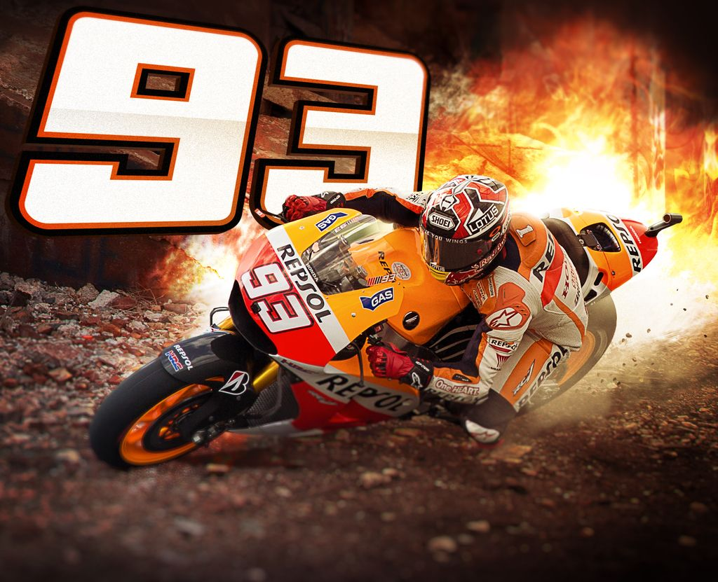 Pin By Mark On Hd Wallpapers: Marc Márquez Wallpaper