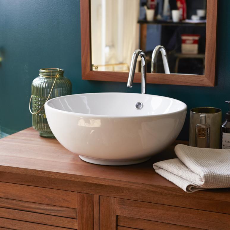 Marblewashbasins - Bahya grey colour washbasins - Tikamoon