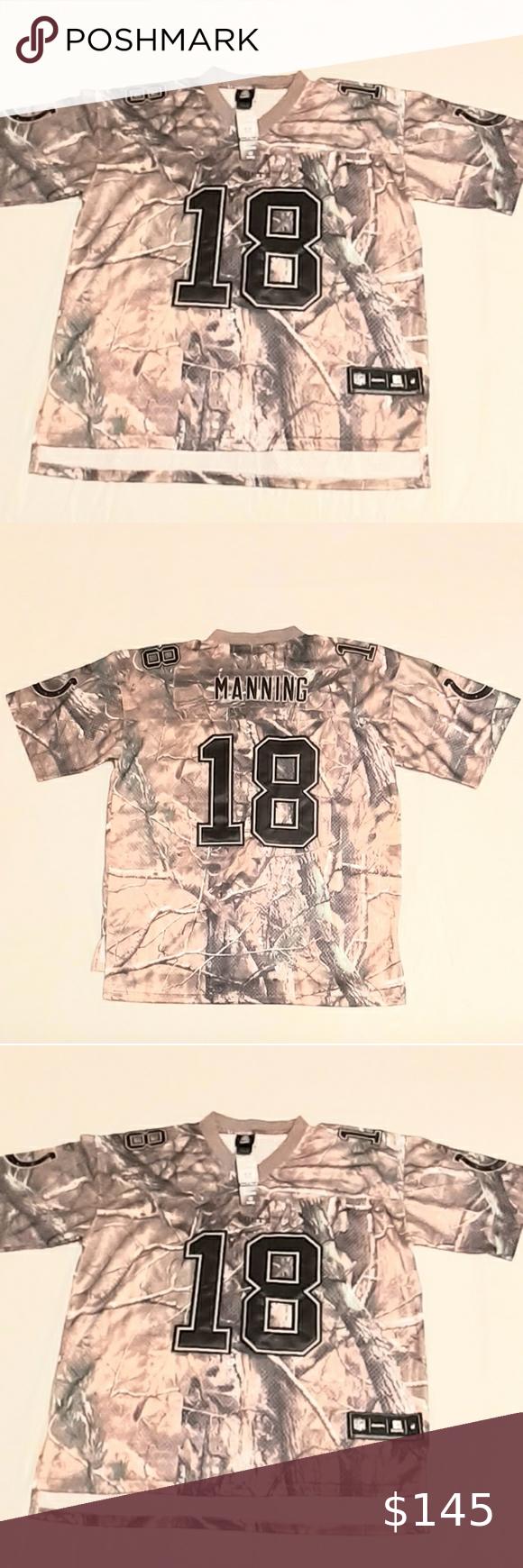 Rare, Manning, NFL, Realtree Camo Jersey   Camo jersey, Realtree ...