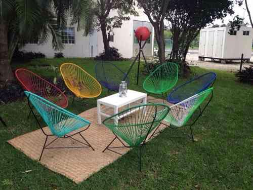 Sillas Acapulco  Favorite Places  Spaces  Outdoor furniture sets Outdoor decor y Outdoor Furniture