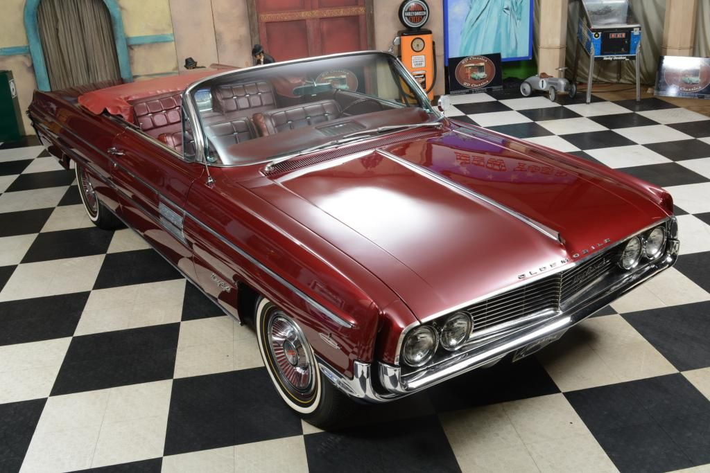 1962 Oldsmobile 98 Convertible Classic car for saleEN