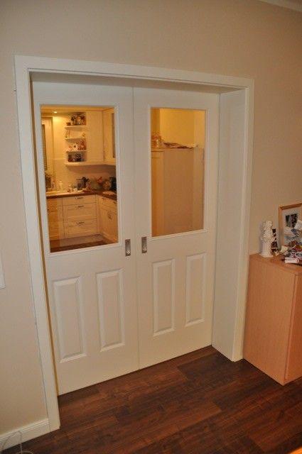 Landhaus-Schiebetür im Wohnzimmer | Türen | Pinterest | Dekor | {Küchen kaufen landhaus 87}