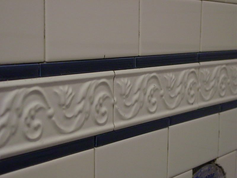 Tile Decorative Trim Trim Tile In Subway Tile Shower Just The Idea Not This Tile