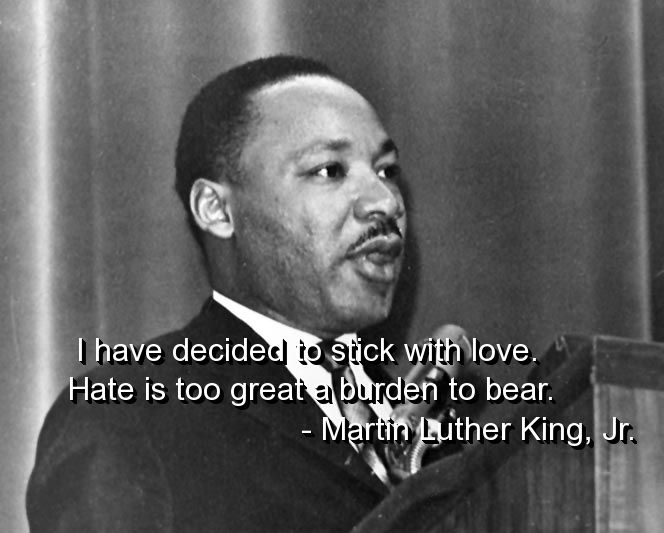 Pin by Teresa Thorpe on inspiration Martin luther king