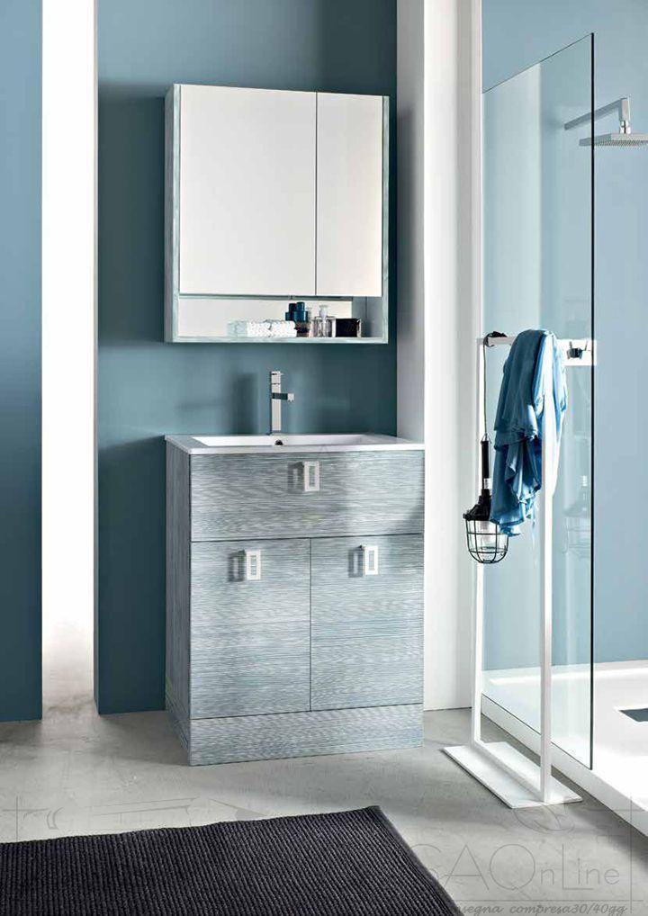 Bagni Moderni Foto Prezzi.Arredo Bagno Base Terra Specchio Contenitore Ly47 Prezzo