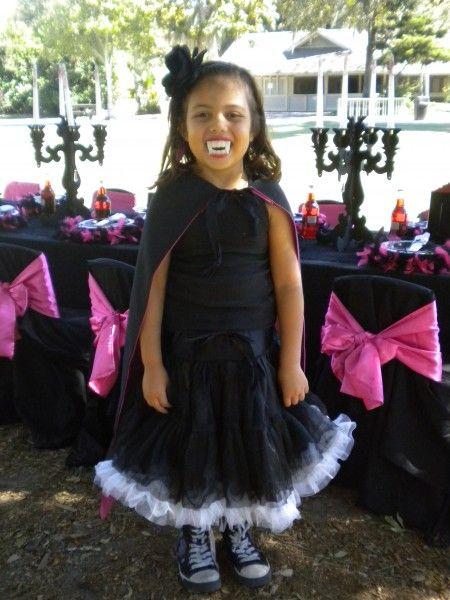 Halloween Costume For Kids Girls Vampire