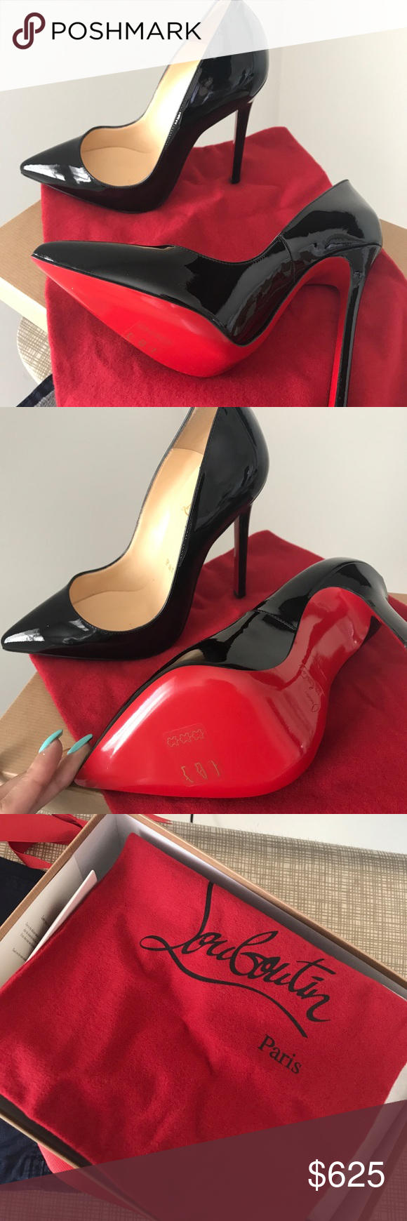 1384f5500d82 Red Bottoms Brand New In Box Never Used Christian Louboutin Shoes Heels