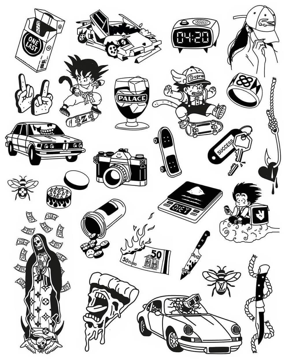 "Sketch Tattoo and Art🔥 on Instagram: ""@cedricderodot_tattoo 🔫 . . . ."