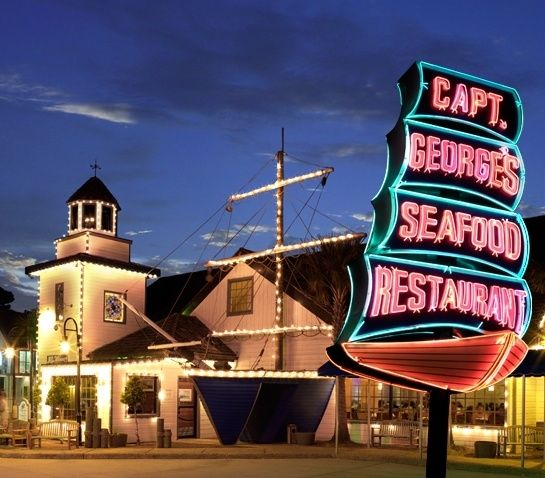 Captain George S Seafood Restaurant Va Beach Delicious But Very Expensive We Have 5 In Our Family And At 31 95 It Cost Us A Pretty Penny
