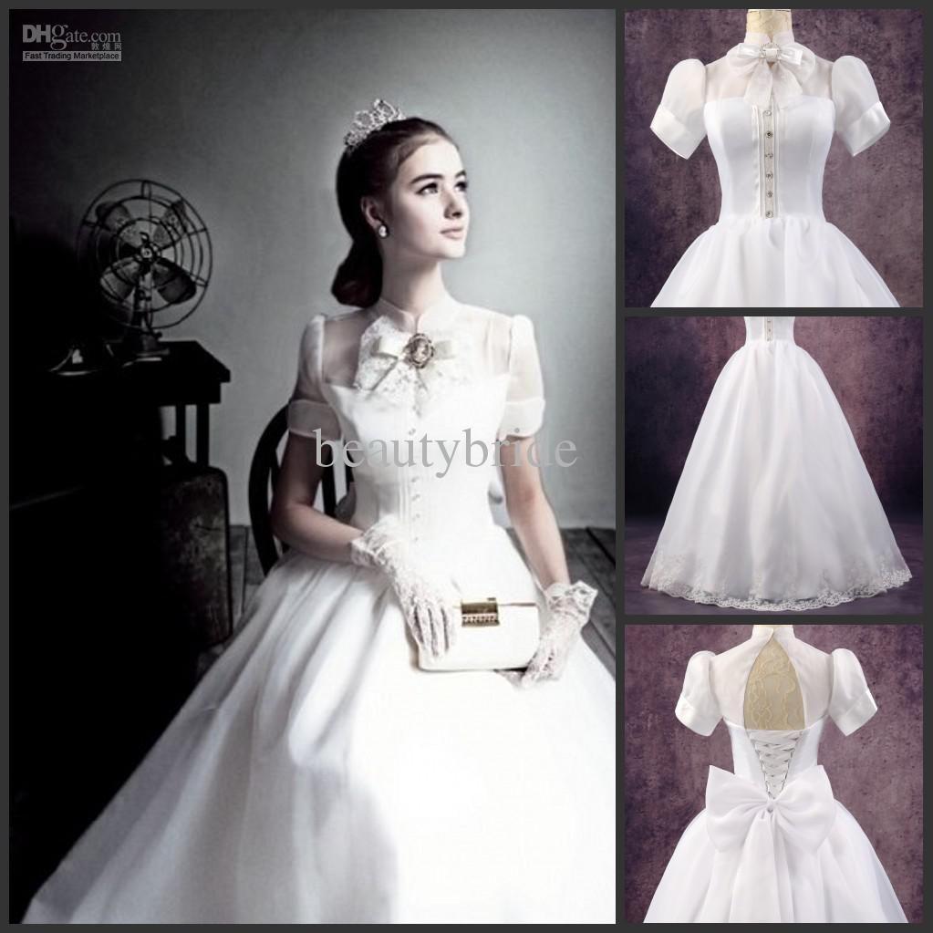 ball gown high neck short sleeve ball gown pinterest