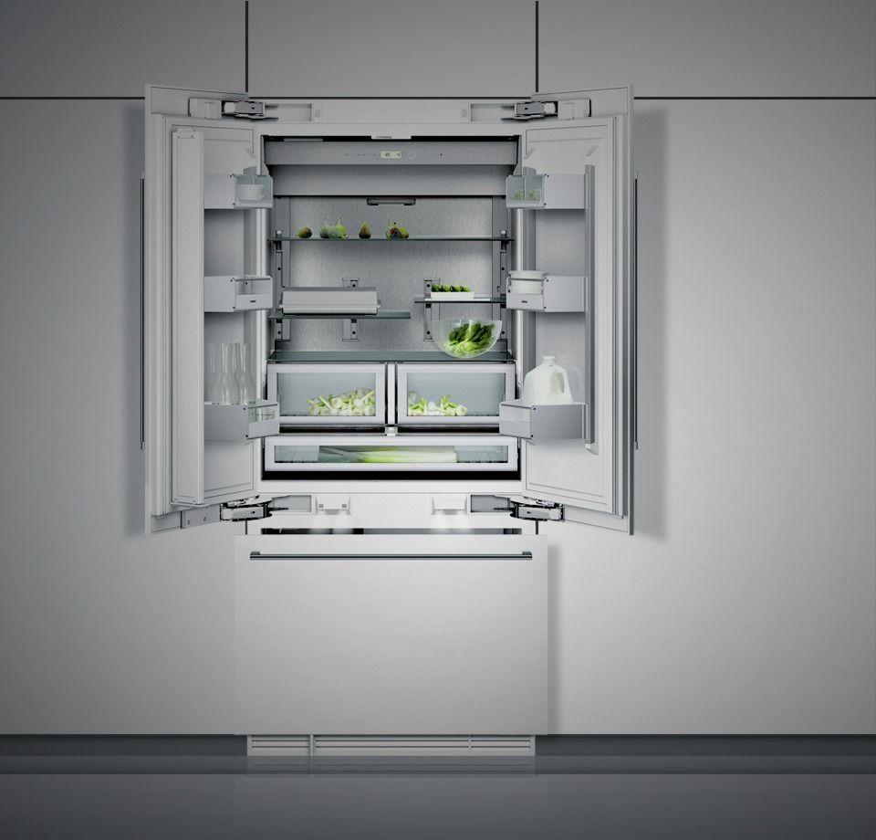 Gaggenau Vario 400 Series Fridge Freezer Appliances Pinterest  # Muebles De Cocina Gaggenau