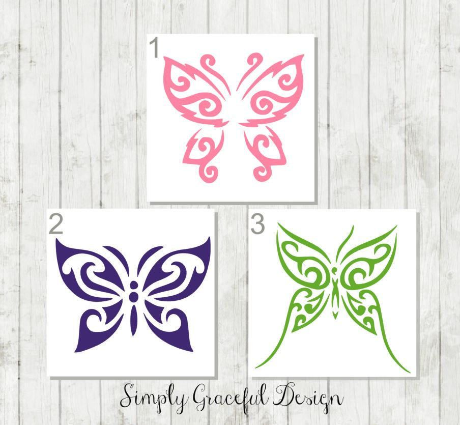 Butterfly Vinyl Decal Butterfly Car Decal Butterfly Sticker - Butterfly vinyl decals