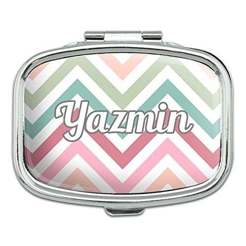 Rectangle Pill Case Trinket Gift Box Names Female Ya-Yv - Yazmin | Female names, Pill case, Trinket