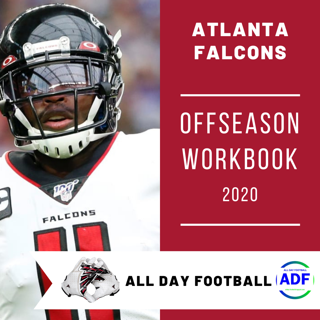 Just Released Atlanta Falcons Offseason Workbook 2020 Allday Football Blogspot Com Nfl Fantasyfootball Falc In 2020 Atlanta Falcons Atlanta Fantasy Football